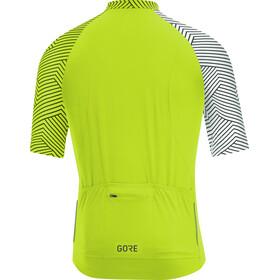 GORE WEAR C5 Optiline Jersey Men citrus green/white